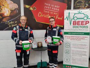 BEEP Doctors raise £881